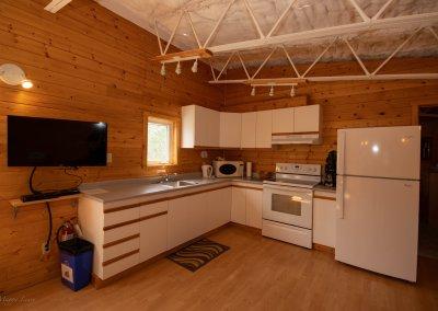 Raven's Nest kitchen
