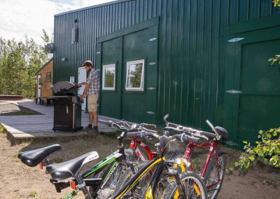 bicycles at Sundog Retreat