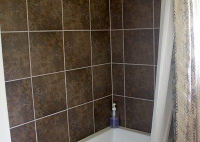 fireweed bathroom new tile