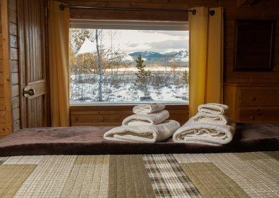 window from bed in Fuzzy Crocus