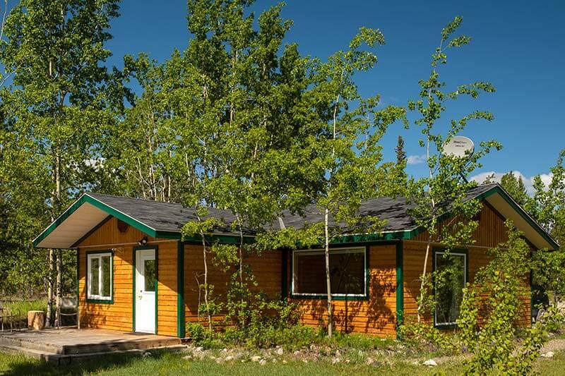 Yukon Cabin Panorama